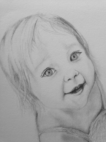 Little Blue Eyed Girl