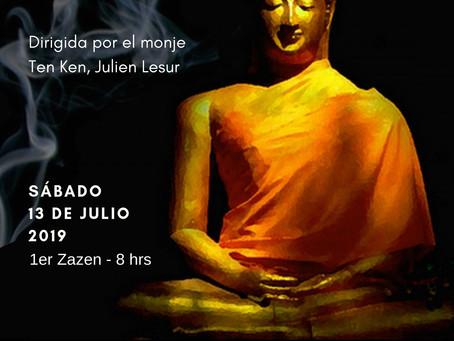 Jornada de meditación zen Julio 2019