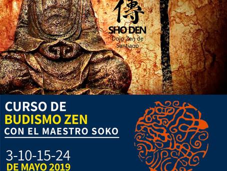 Curso de Budismo Zen con el maestro Soko - IX versión