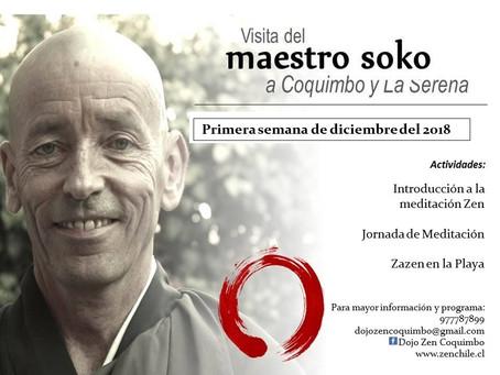 Visita del maestro Soko a Coquimbo y La Serena