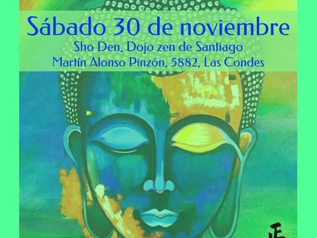 Jornada de meditación zen con el maestro Soko - Noviembre 2019