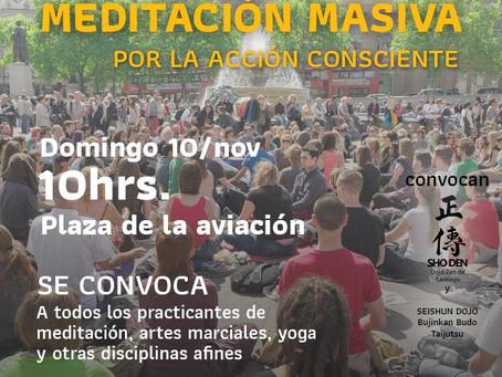 Meditación masiva - Domingo 10 Noviembre