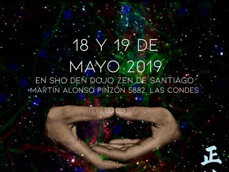Sesshin de Santiago - Mayo 2019 - dirigida por el maestro Soko