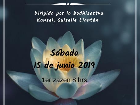 Jornada de meditación zen Junio 2019