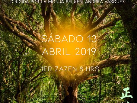 Jornadas de meditación y costura - Abril