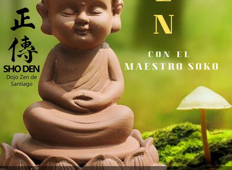 Jornada de meditación con el maestro Soko + Fiesta fin de año