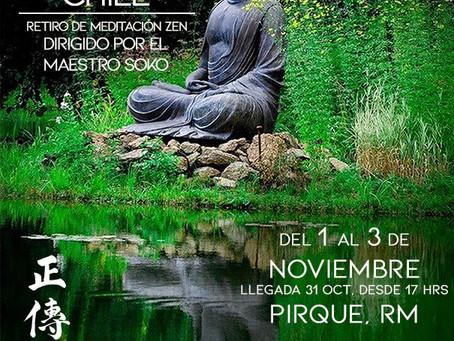 Sesshin de Chile - Noviembre 2019- con el maestro Soko