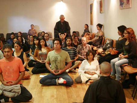 Actividades de meditación Zen junto al maestro Soko en Santiago