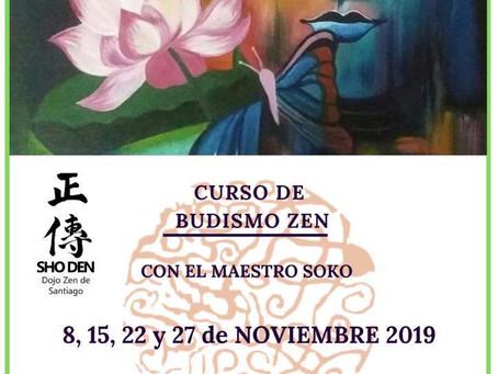 Curso de Budismo Zen con el maestro Soko