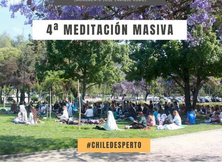 4ta Meditación Masiva en Plaza de la aviación