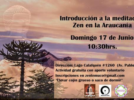 Introducción a la meditación zen en Temuco