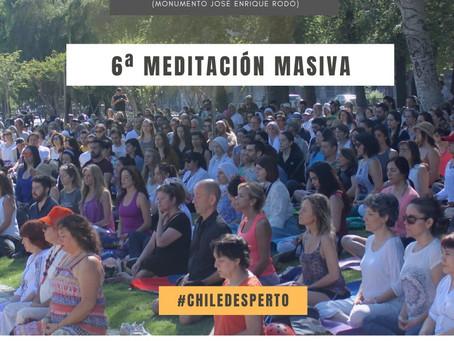 6ta Meditación masiva en Plaza de la Aviación