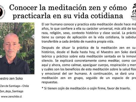 Maestro Soko en Expo Yoga Chile 2018