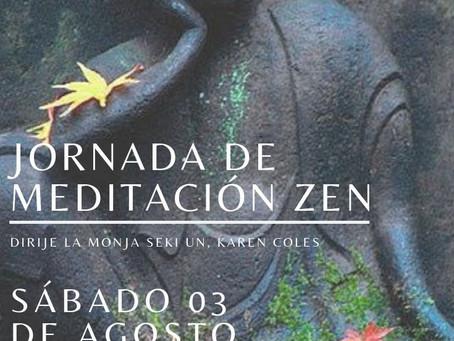 Jornada de meditación zen en Temuco Agosto 2019