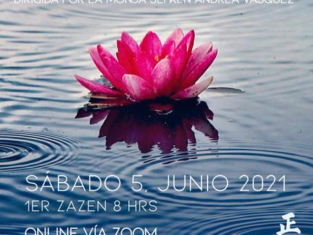 Jornada de meditación zen Junio 2021