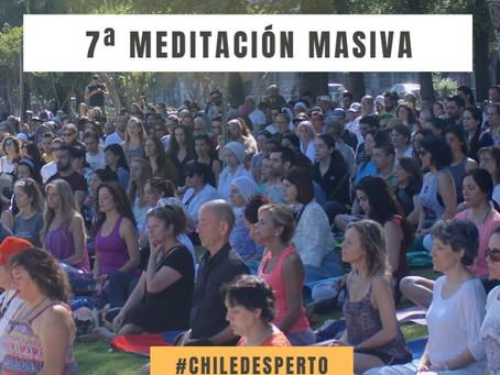 7ma Meditación masiva en Plaza de la Aviación