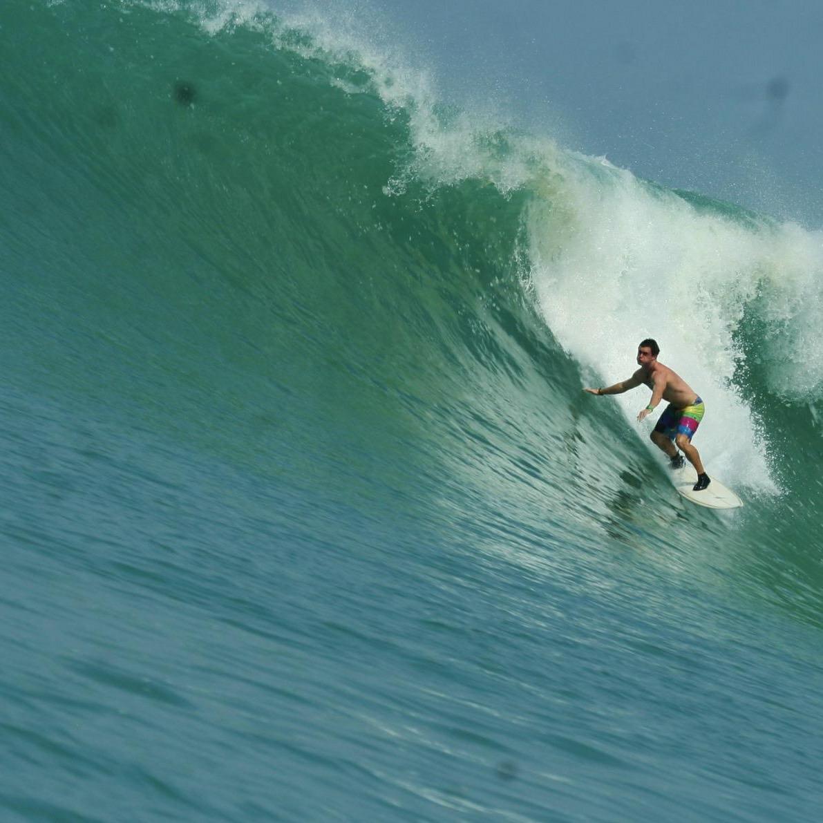 Chris Erasmus Surfing