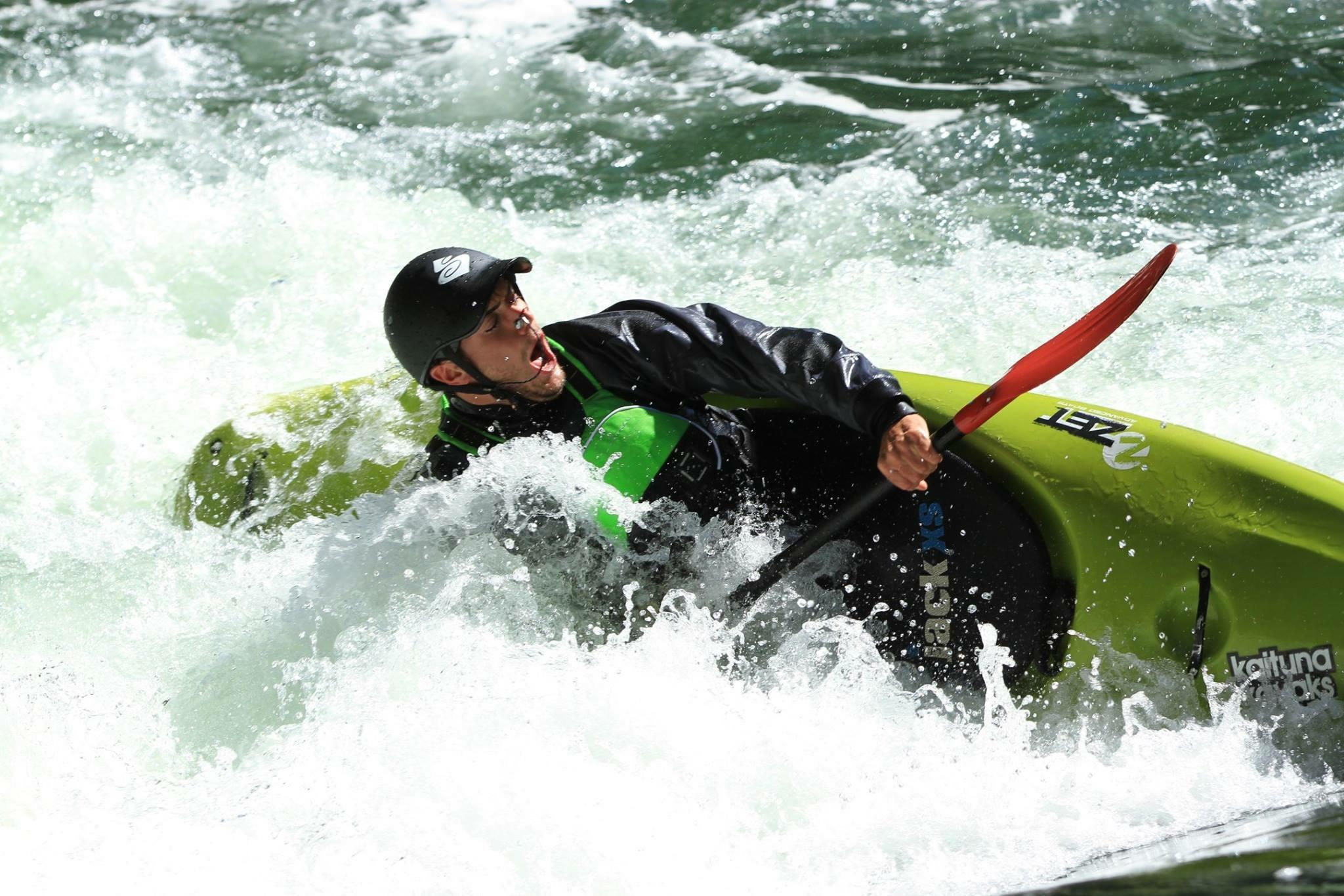 Chris Erasmus Kayaking