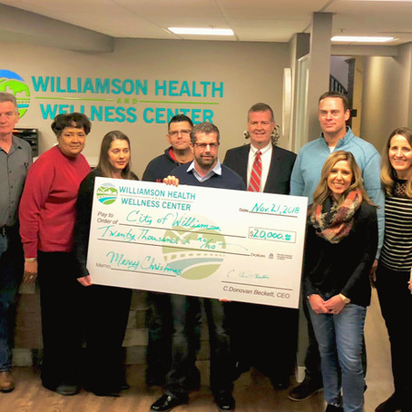 $20K donation helps make Williamson merry & bright