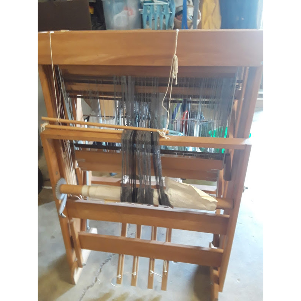 Warping a Loom