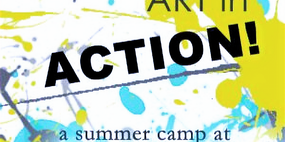 Summer Camp: Art in Action (Kinder and up)