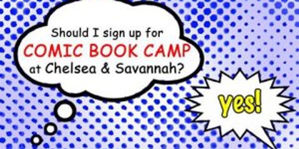 Summer Camp: Comic Books, Anime & Cartoons