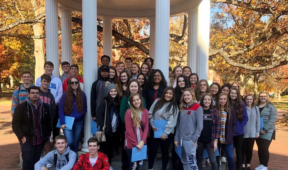 Tour of UNC Chapel Hill