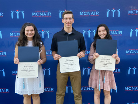 STUDENTS RECEIVE ADDITIONAL SCHOLARSHIPS