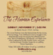 DCHS THE HUMAN EXPERIENCE FLYER 1019 PRO