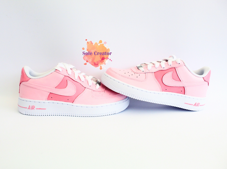 Double Pink Air Force 1 - Ladies
