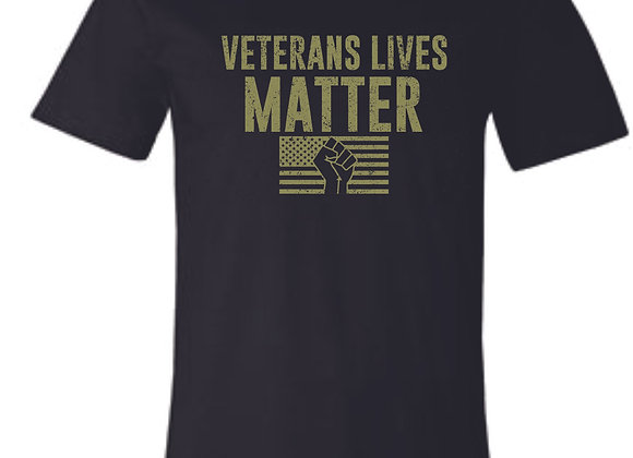 Veterans Black Bella Tshirt