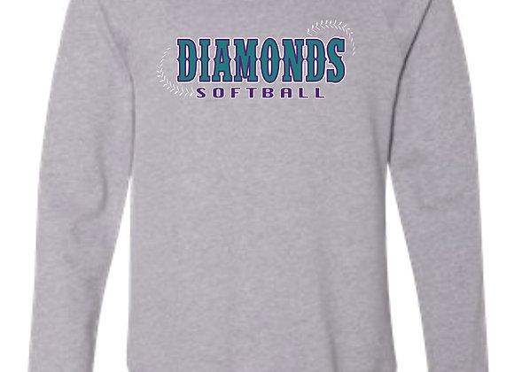 Diamonds Bella Crew Sweatshirt