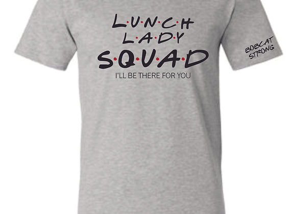 Lunch Ladys Bella Vneck-Athletic Grey