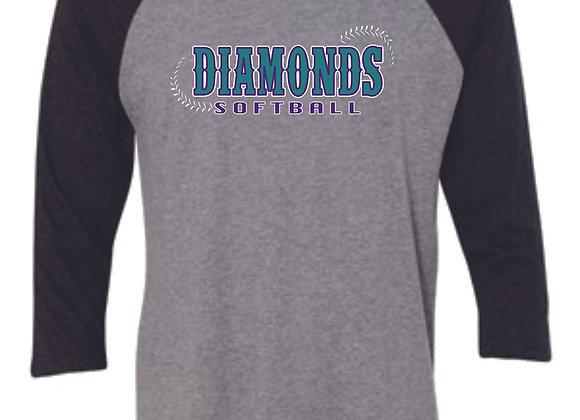 Diamonds Baseball Sleeve