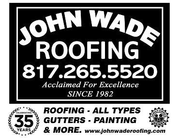 john wade roofing Arlington TX