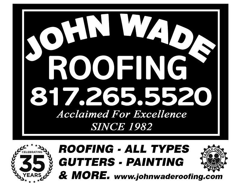 john wade roofing logo