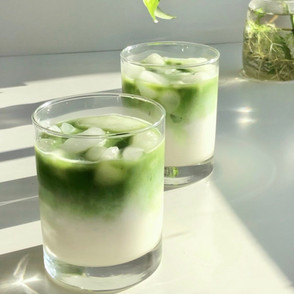 The Perfect Iced Matcha Latte