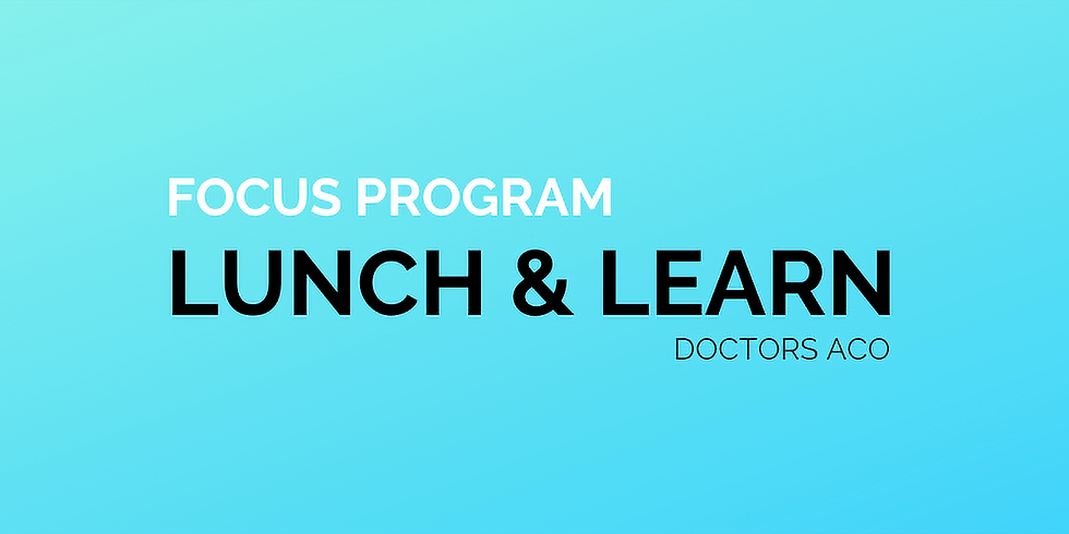 Lunch & Learn: Focus