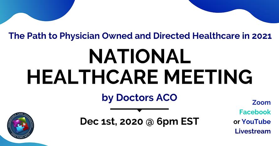 National Healthcare Meeting - DACO FB Ev