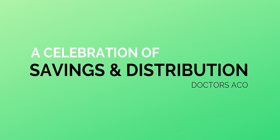 A Celebration of Savings and Distribution - Remote Event