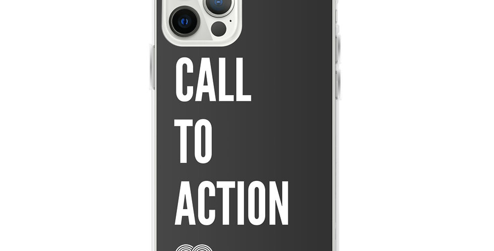 Call To Action iPhone Case