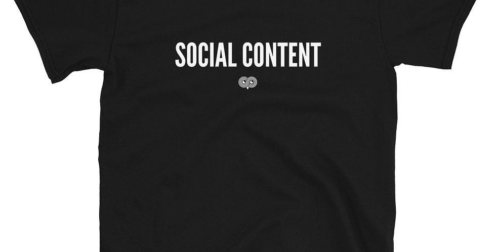 Social Content T-Shirt