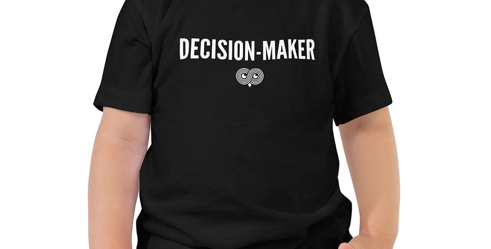 Decision Maker Toddler Tee