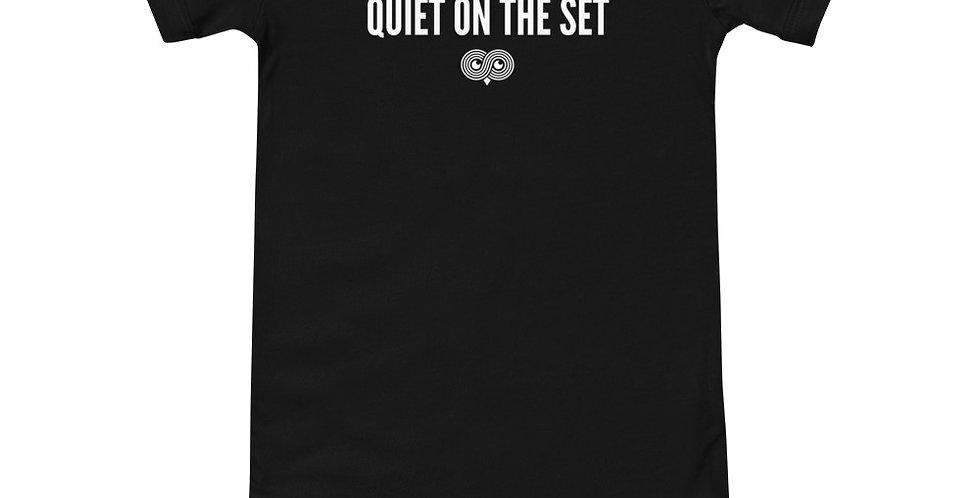 Quiet On The Set Onesie