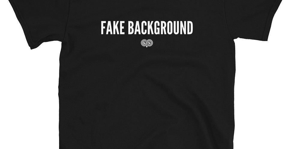 Fake Background T-Shirt