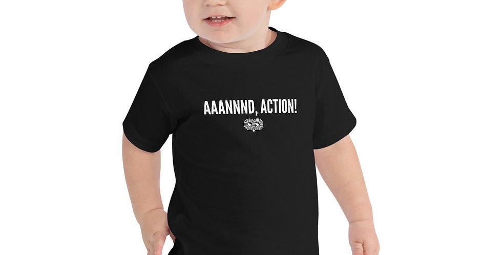 Aaannnd, Action! Toddler Tee