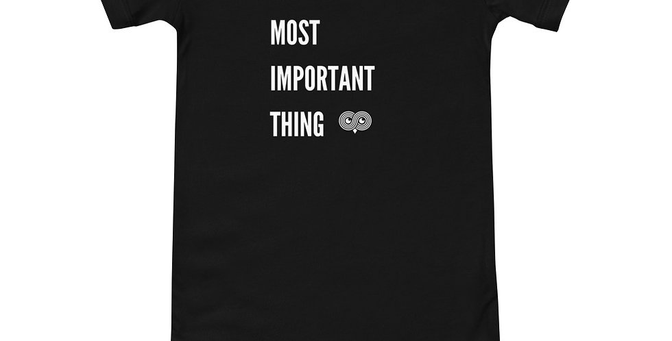 Single Most Important Thing Onesie