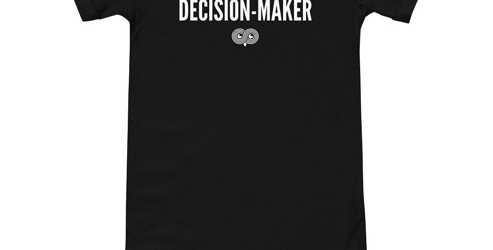 Decision Maker Onesie
