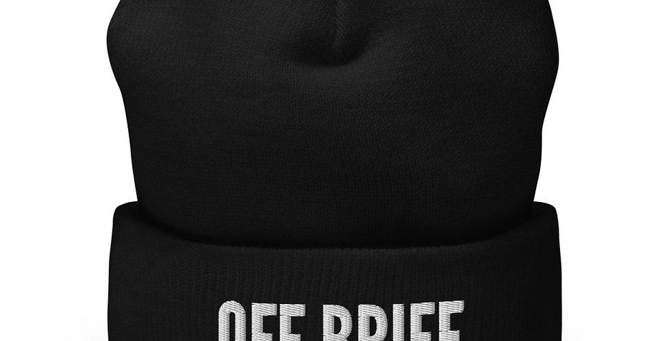 Off Brief Winter Hat