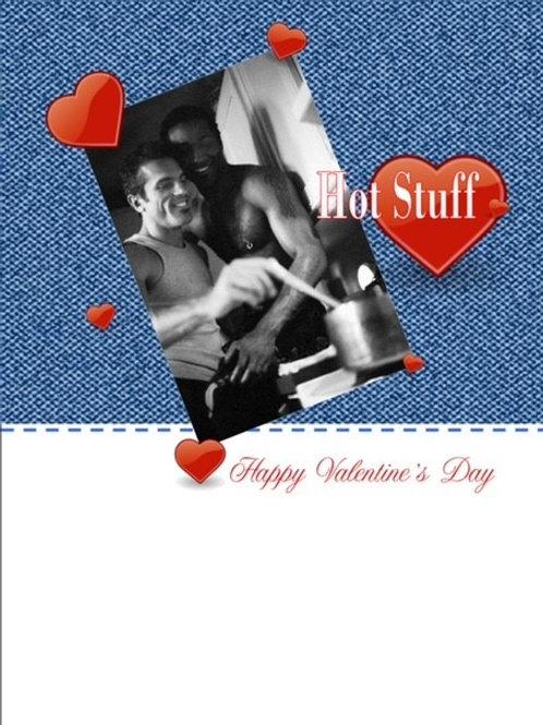 Valentines men Hot Stuff
